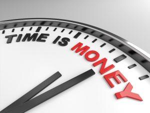 az idő pénz - bélyegző készítés azonnal